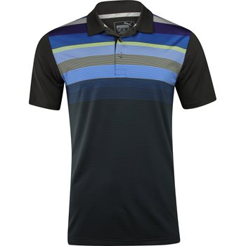 Puma GoTime Road Map Shirt Polo Short Sleeve Apparel
