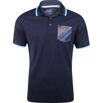 Puma Pixel Pocket Shirt Polo Short Sleeve Apparel