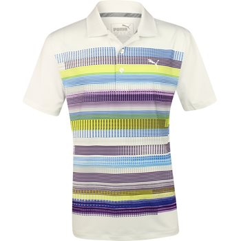 Puma Youth Pixel Shirt Polo Short Sleeve Apparel
