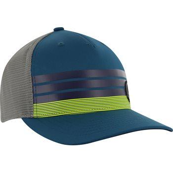 Adidas Stripe Trucker Headwear Cap Apparel