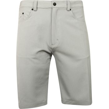 Greg Norman 5-Pocket Heathered Shorts Flat Front Apparel