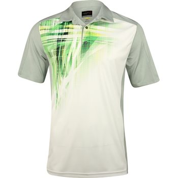 Greg Norman WeatherKnit Sublimation Shirt Polo Short Sleeve Apparel