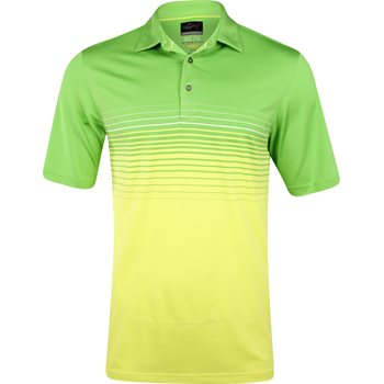 Greg Norman ML75 Stretch Engineered Stripe Shirt Polo Short Sleeve Apparel