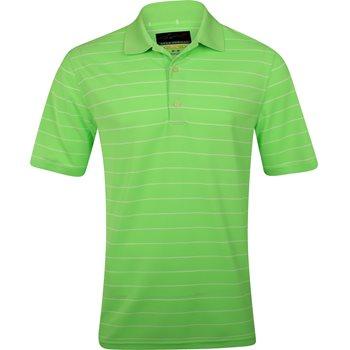 Greg Norman Protek Micro Pique Stripe 449 Shirt Polo Short Sleeve Apparel