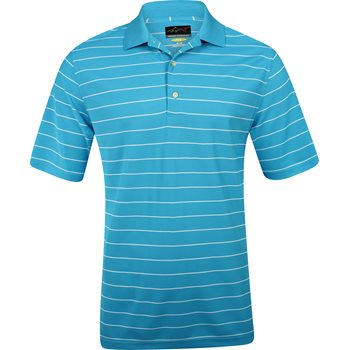 Greg Norman Protek Micro Pique Stripe 449 Shirt Polo Short Sleeve Apparel
