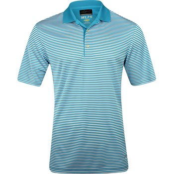 Greg Norman ML75 Bar Stripe 433 Shirt Polo Short Sleeve Apparel
