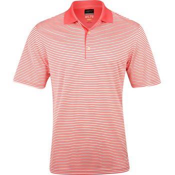 Greg Norman ML75 Bar Stripe 433 Shirt Polo Short Sleeve Apparel