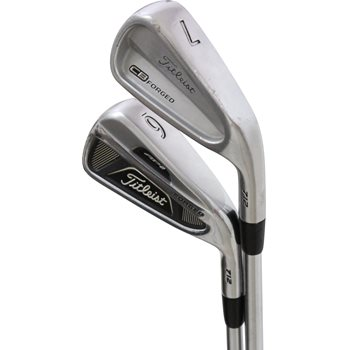 Titleist AP2 712 Forged/CB 712 Forged Combo Iron Set Preowned Golf Club