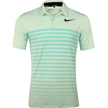 Nike Heather Stripe Dry Shirt Polo Short Sleeve Apparel