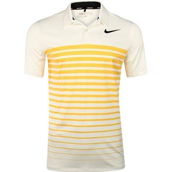 Nike Heather Stripe Dry Shirt Polo Short Sleeve Apparel