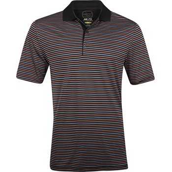 Greg Norman ProTek ML75 Microlux Stripe 450 Shirt Polo Short Sleeve Apparel