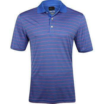 Greg Norman ProTek ML75 Microlux Stripe 450 Shirt Polo Short Sleeve Apparel