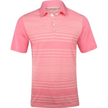 Ashworth Single Dye Eco Heather Shirt Polo Short Sleeve Apparel