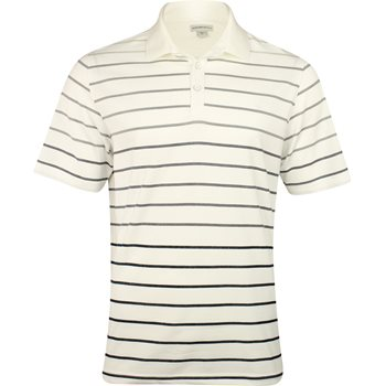 Ashworth Spectrum Stripe Yarn Dye Shirt Polo Short Sleeve Apparel