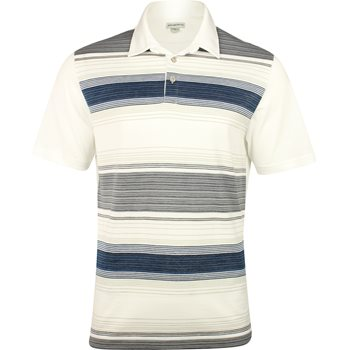Ashworth Yarn Dye Ombre Shirt Polo Short Sleeve Apparel