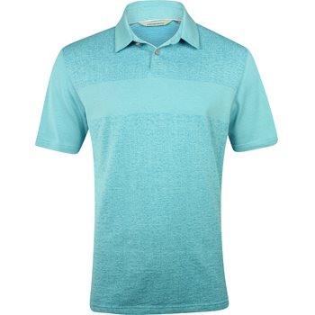 Ashworth Tonal Jacquard Shirt Polo Short Sleeve Apparel