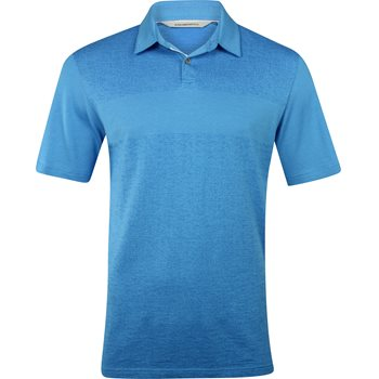 Ashworth Tonal Jacquard Shirt Polo Short Sleeve Apparel