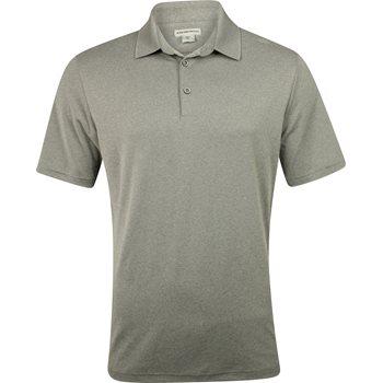Ashworth Matte Interlock Solid Stretch Shirt Polo Short Sleeve Apparel