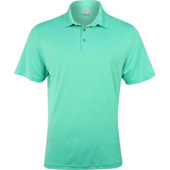 Ashworth Matte Interlock Solid Stretch Shirt Polo Short Sleeve Apparel