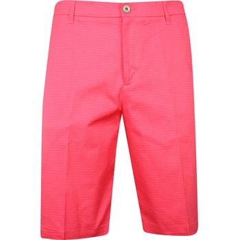 Ashworth Mini Check Shorts Flat Front Apparel