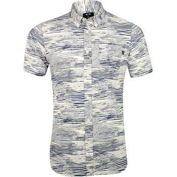 Oakley Grain Woven Button Down Shirt Dress Apparel