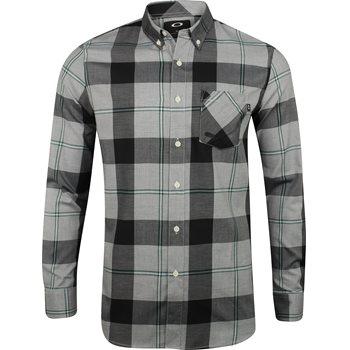 Oakley Shred L/S Woven Button Down Shirt Dress Apparel