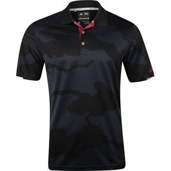 Adidas ClimaChill Herringbone Camo Shirt Polo Short Sleeve Apparel