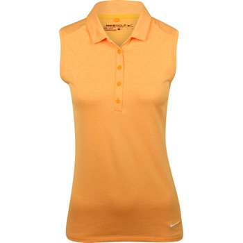 Nike Dri-Fit Sleeveless Heather Shirt Polo Short Sleeve Apparel