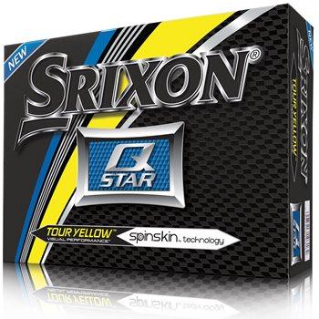 Srixon Q-Star 4 Tour Yellow Golf Ball Balls