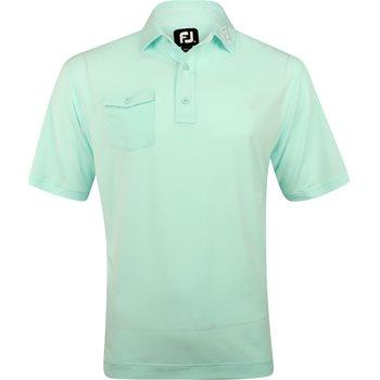 FootJoy ProDry Performance Chest Pocket Tour Logo Shirt Polo Short Sleeve Apparel
