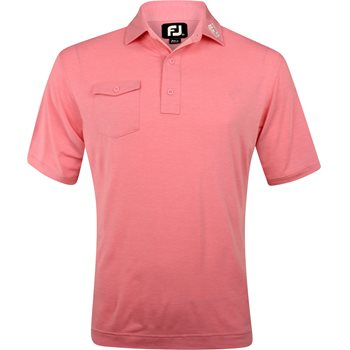 FootJoy ProDry Performance Chest Pocket Tour Logo Shirt Polo Short Sleeve Apparel