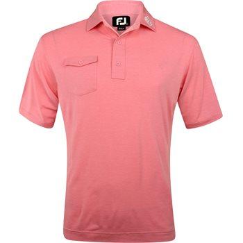 FootJoy ProDry Performance Chest Pocket Tour Logo Shirt Apparel
