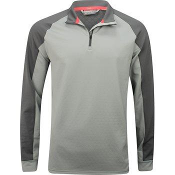 Puma PWRWarm ColorBlock Quarter-Zip Outerwear Pullover Apparel
