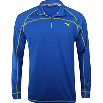 Puma Embossed ¼ Zip Outerwear Pullover Apparel