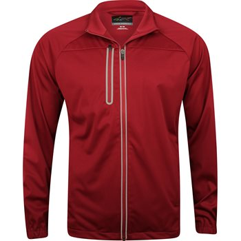 Greg Norman Full Zip Weatherknit Rainwear Rain Jacket Apparel