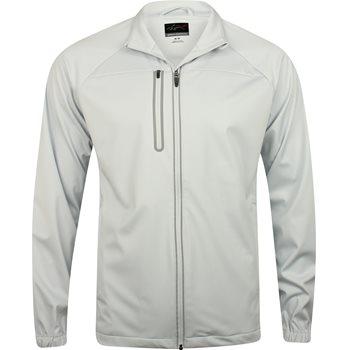 Greg Norman Full Zip Weatherknit Rainwear Rain Jacket Apparel
