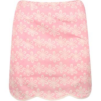 "Golftini Flower Power Pink Stretch Cotton 19"" Skort Regular Apparel"