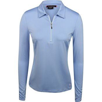 Golftini L/S Zip Tech Shirt Polo Long Sleeve Apparel