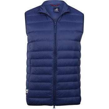 Johnnie-O Doubledown Quilted Outerwear Vest Apparel