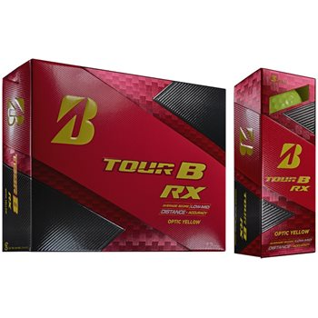 Bridgestone Tour B RX Yellow Golf Ball Balls
