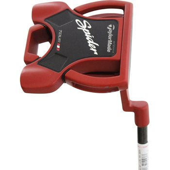 """TaylorMade Spider Tour Red """"L"""" Neck Putter Clubs"""