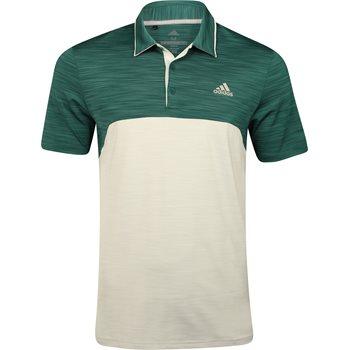 Adidas Ultimate 365 Heather Blocked Shirt Polo Short Sleeve Apparel