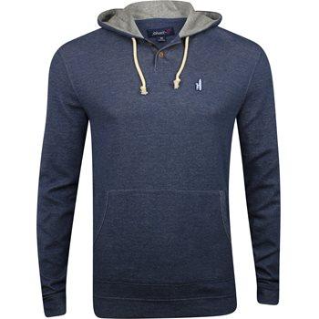 Johnnie-O Layton Hooded Henley Sweatshirt Outerwear Apparel