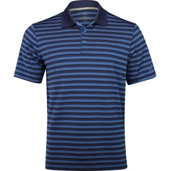Adidas Ultimate 365 3-Color Stripe Shirt Polo Short Sleeve Apparel