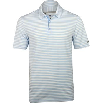 Adidas Ultimate 365 2-Color Stripe Shirt Polo Short Sleeve Apparel