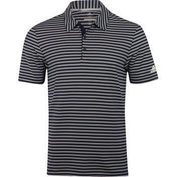 Adidas Ultimate 365 2-Color Stripe Shirt Polo Short Sleeve Apparel