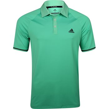 Adidas ClimaCool Jacquard Raglan Shirt Polo Short Sleeve Apparel