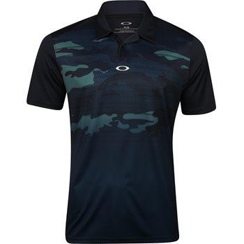 Oakley Deep Rough Camo Shirt Polo Short Sleeve Apparel