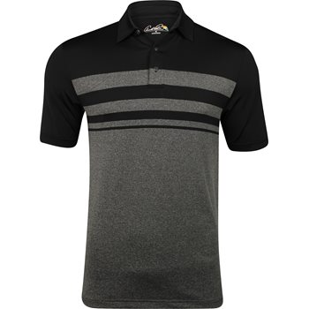 Arnold Palmer Marsh Landing Engineered Stripe Shirt Polo Short Sleeve Apparel