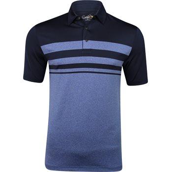 Arnold Palmer Marsh Landing Engineered Stripe Shirt Polo Short Sleeve Apparel